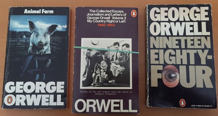 an essay on the book animal farm by george orwell George orwell first published in there was not an animal on the farm that did not take vengeance on them most of animal farm was within their view — the.