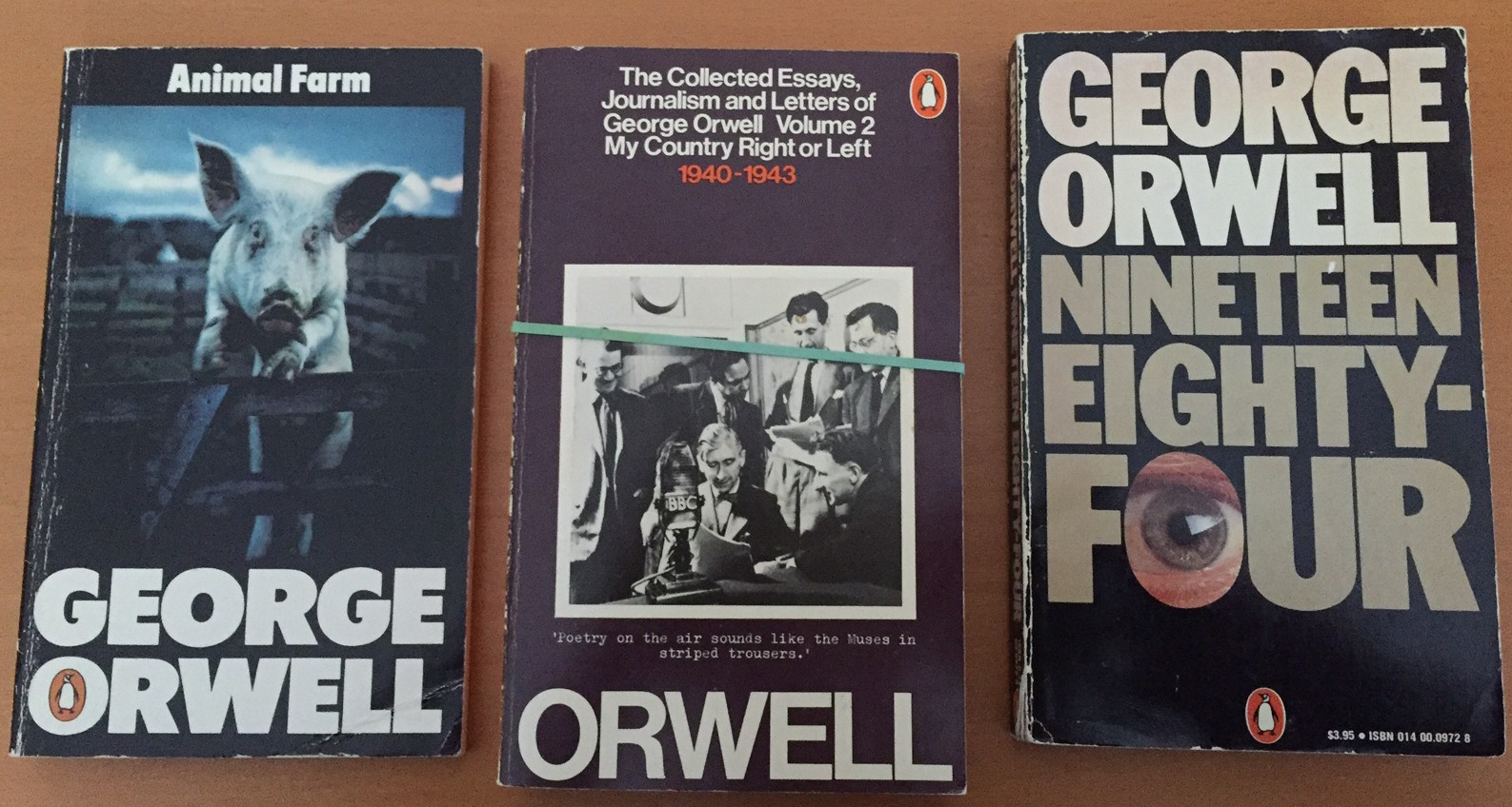 orwell writing essay The george orwell: essays community note includes chapter-by-chapter summary and analysis, character list, theme list, historical context, author biography and quizzes written by community members like you.